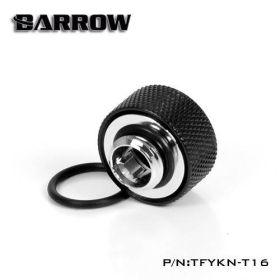 Barrow G1/4 - 14mm OD Twin Seal Hard Tube Compression Fitting - Black
