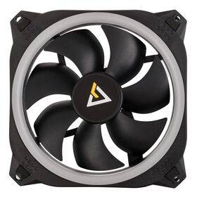 Antec Prizm 140mm Addressable RGB Case Fans, Controller and LED Strips - Dual Pack
