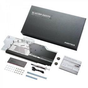 Phanteks Glacier RTX 2070 / 2060 Asus Strix GPU Full Water Block DIgital-RGB Lighting - Black