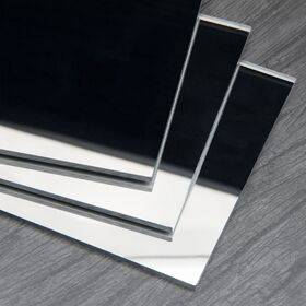 Acrylic Sheet - Mirror Silver - 600x500x3mm