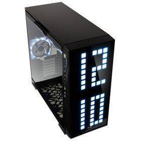 InWin 309 Midi-Tower - Addressable RGB Front Panel with 4 ARGB Fans - Tempered Glass Side Panel