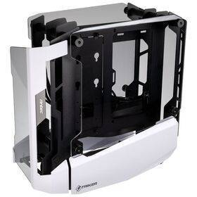 Antec Striker Mini-ITX Showcase - Tempered Glass - White