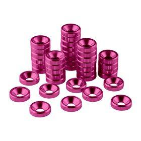 CableMod Anodized Aluminum Washers - 40 Pack Pink