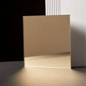 Acrylic Sheet - Mirror Gold - 600x500x3mm