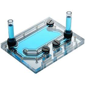 Phanteks Glacier D120 Distro Plate - Acrylic Mirror Backplate, ARGB / DRGB LED Strip