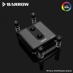 Barrow Composite Edition Micro Jet CPU Waterblock, LRC 2.0 RGB, AM3/4 - Black