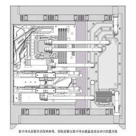 Barrow Waterway LRC 2.0 RGB Distribution Panel (Tray) for Lian Li O11DXL-X Dynamic XL