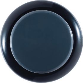 Sanwa 30mm Button - OBxS-30 - Silent - Black/Dark Hai