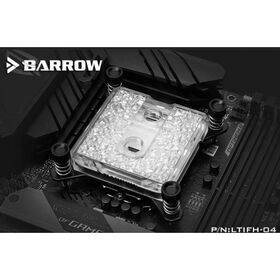 Barrow Acrylic Icicle Series CPU Waterblock, LRC 2.0 RGB, INTEL 115x - Black