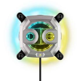 Hydro X Series XC7 RGB CPU Water Block (1200/AM4) - Silver
