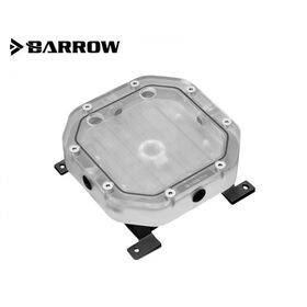 Barrow 120mm Modular Octagon Reservoir with LRC 2.0 RGB (Link or Radiator Mount)