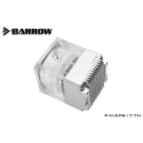 Barrow SPB17-TM 960LPH 17W PWM Mini Pump Reservoir with LRC 2.0 RGB - Silver