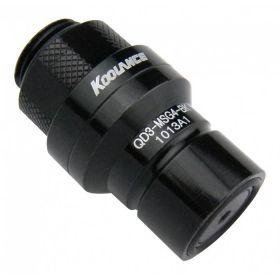 Koolance G1/4 - Stekker - Black - QD3-MSG4-BK