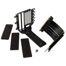 Phanteks Vertical GPU Bracket & Flatline 220mm PCI-E x 16 Riser Cable Kit
