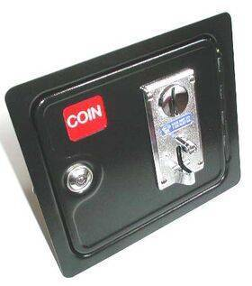 Arcade Coin Door with Coin Mech and Lock