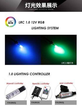 Barrow G1/4 - 25mm LRC 2.0 RGB 12V Quartz LED Lighting Plug