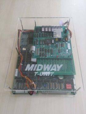 Midway T Unit Acrylic Case - MK2 / Mortal Kombat 2