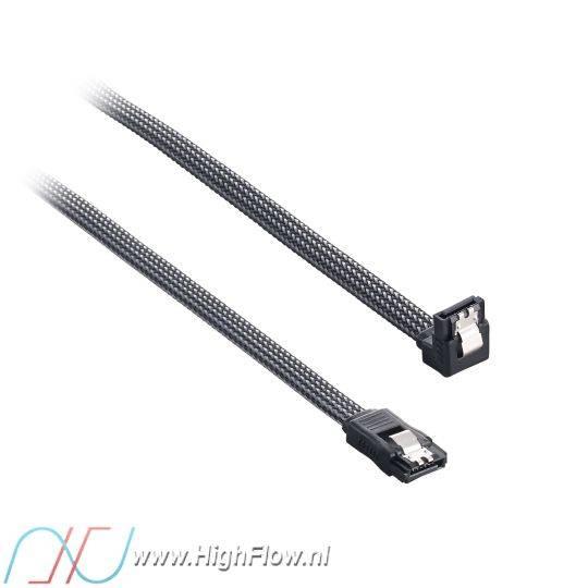 cablemod modmesh right angle sata 3 cable 30cm