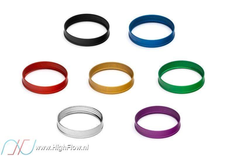 10-Pack EKWB EK-Torque STC-12//16 Color Rings Red
