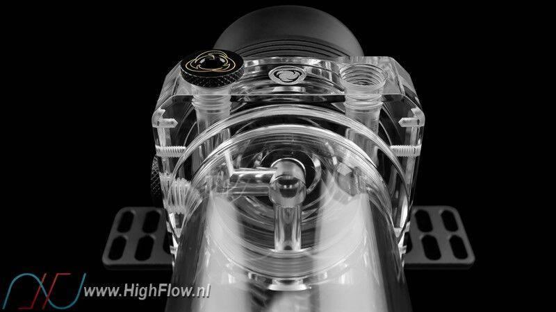 Singularity Computers Protium 150 D5/Reservoir Combo Acrylic